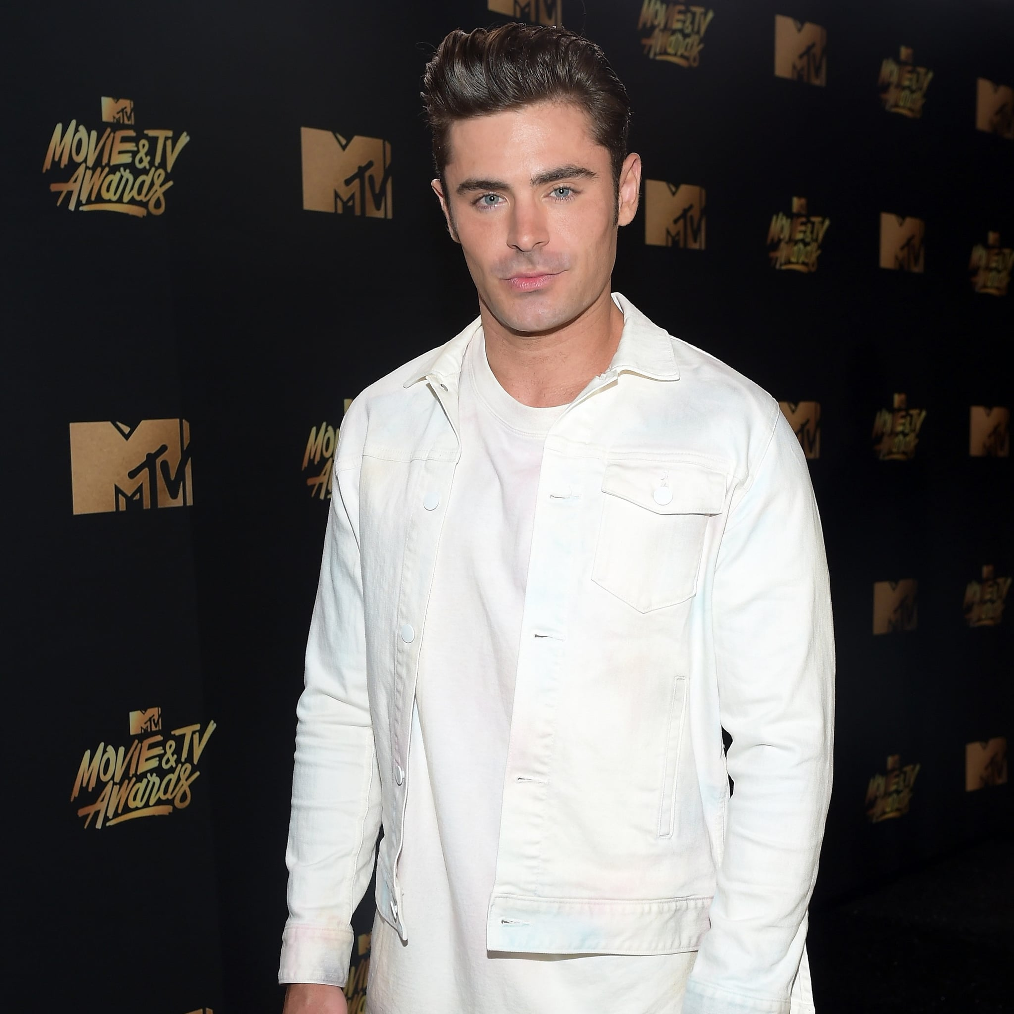 14d93d32 Zac Efron's Outfit at the 2017 MTV Movie and TV Awards | POPSUGAR Fashion