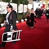 This Is How She Arrived at the Globes With Her Daughter