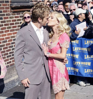 Heidi Montag and Spencer Pratt Go To The Late Show