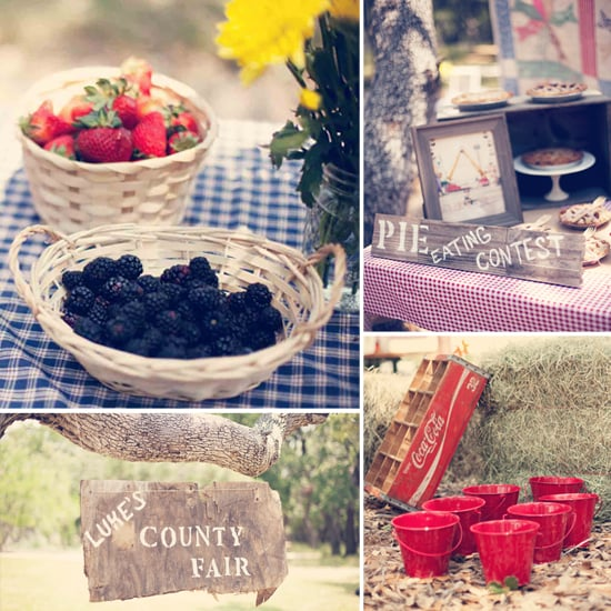 A Detail-Filled Vintage County Fair First Birthday Party