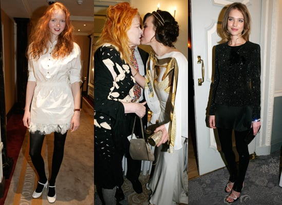 Vivienne Westwood, Lily Cole, Natalia Vodianova and Milla Jovovich Party in London