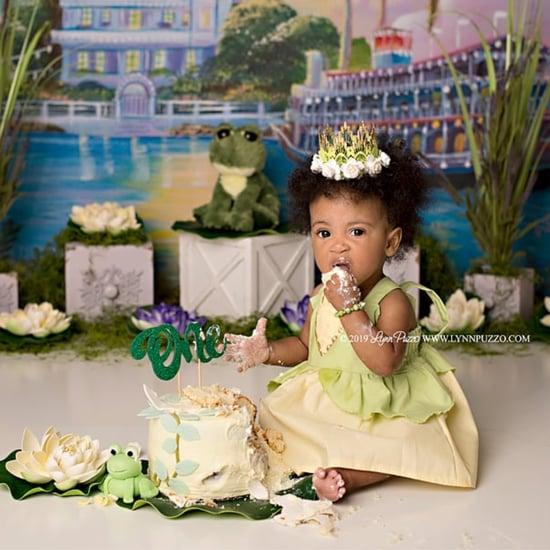 Princess and the Frog Cake Smash