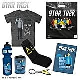 Star Trek Showbag ($25) Includes:  T-shirt  Socks  Can cooler