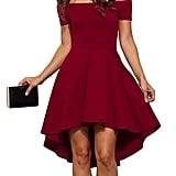 Sarin Mathews Off the Shoulder Cocktail Dress