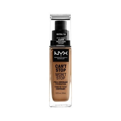 NYX Professional Makeup Can't Stop Won't Stop 24HR Full Coverage Matte Foundation