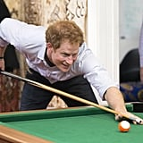 When Harry Looked Hot Playing Pool