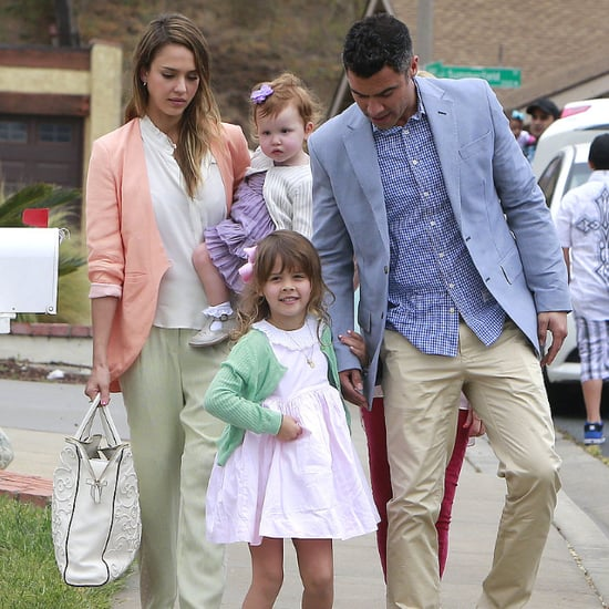 Jessica Alba's Kids' Easter Clothes