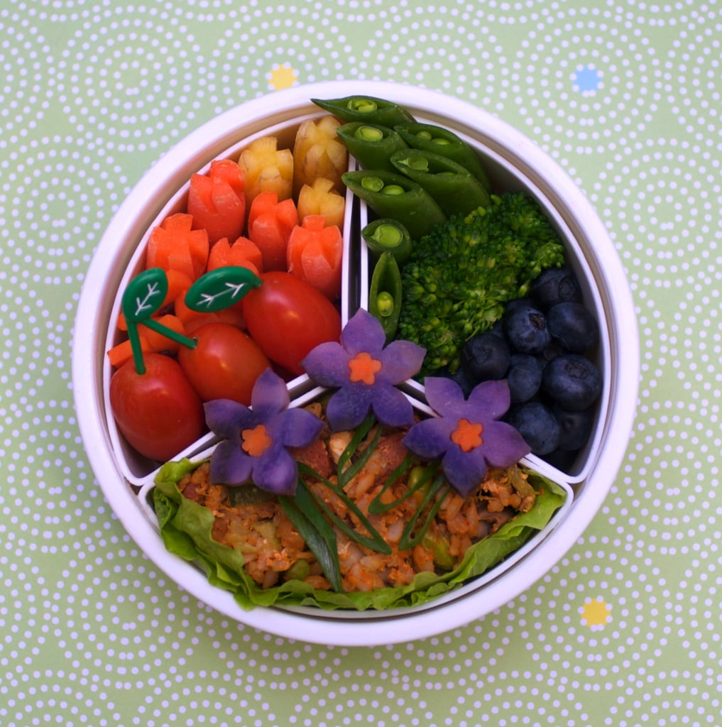 Vegetables and Fried Rice Trio