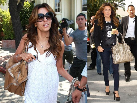 Eva Longoria is Out of Cannes and Wisteria Lane For Awhile, Watches Tony Parker Head to the NBA Playoffs