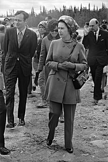 Queen Elizabeth Wearing Pants