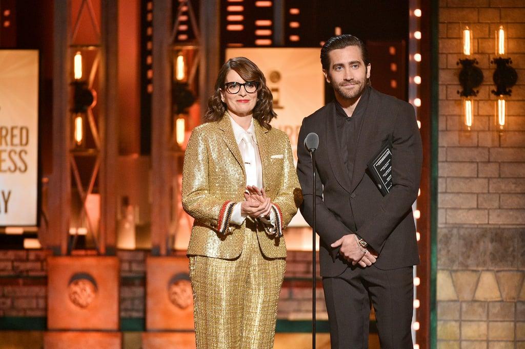 Tina Fey and Jake Gyllenhaal