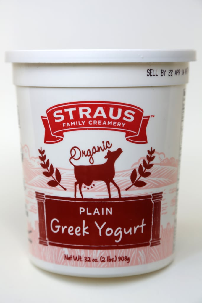 Straus Organic Plain Greek Yogurt