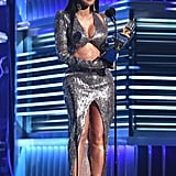 Cardi B's Abs at the 2019 Billboard Music Awards