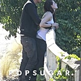 Kristen Stewart got intimate with Rupert Sanders.