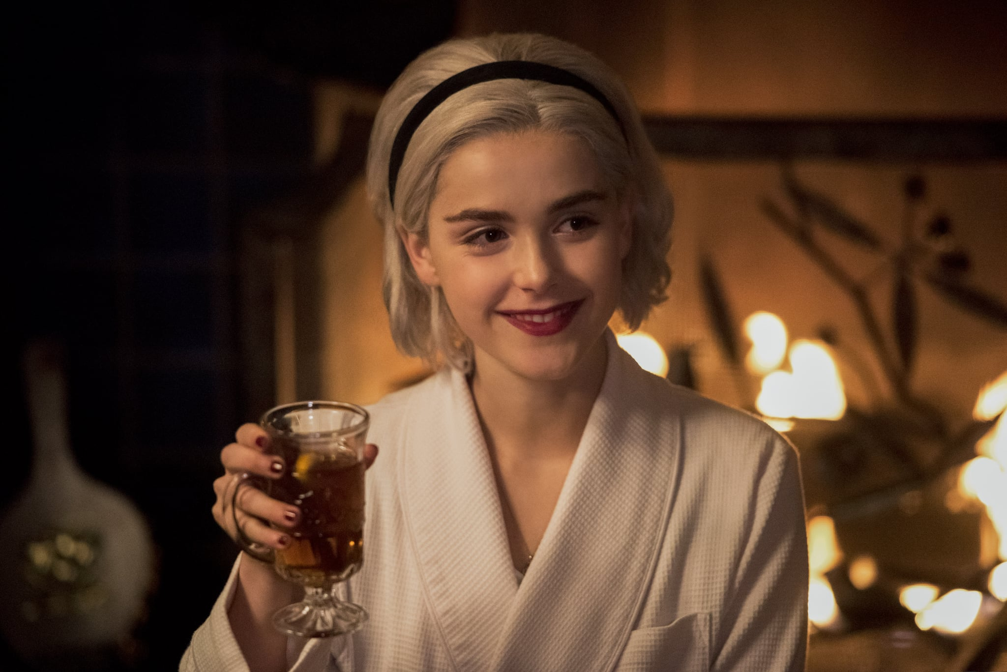 CHILLING ADVENTURES OF SABRINA, Kiernan Shipka, 'Chapter Eleven: A Midwinter's Tale', (Season 1, ep. 111, aired Dec. 14, 2018). photo: Dean Buscher / Netflix / courtesy Everett Collection