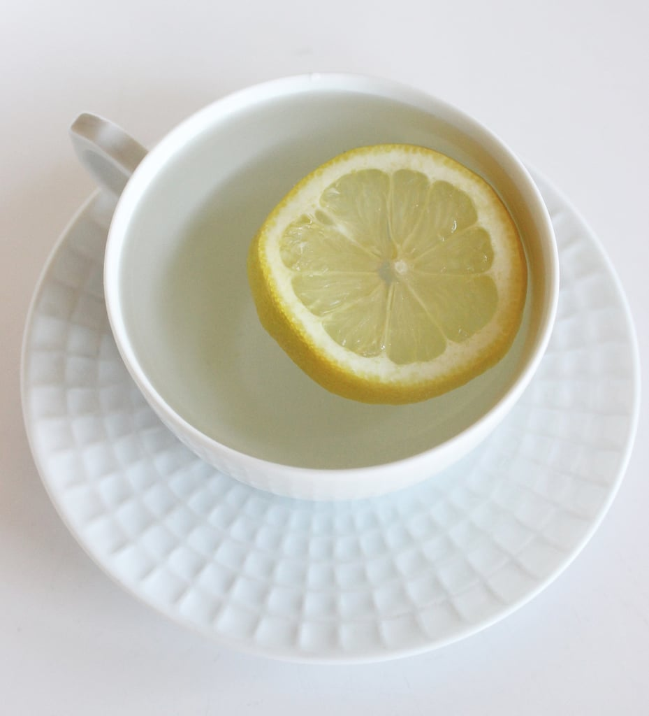 Morning: Drink Hot Water and Lemon