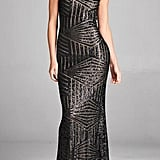 Inance Long Sequined Gown