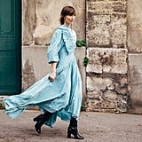Work a Romantic Prairie Dress With Buckled Boots