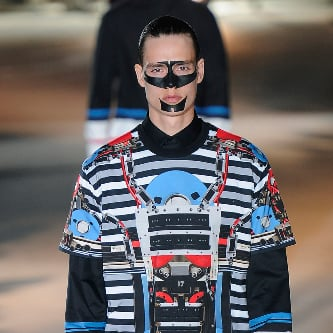 Shocking Style at Men's Fashion Week