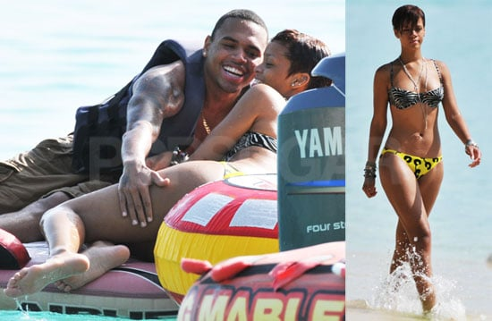 Chris brown bikini