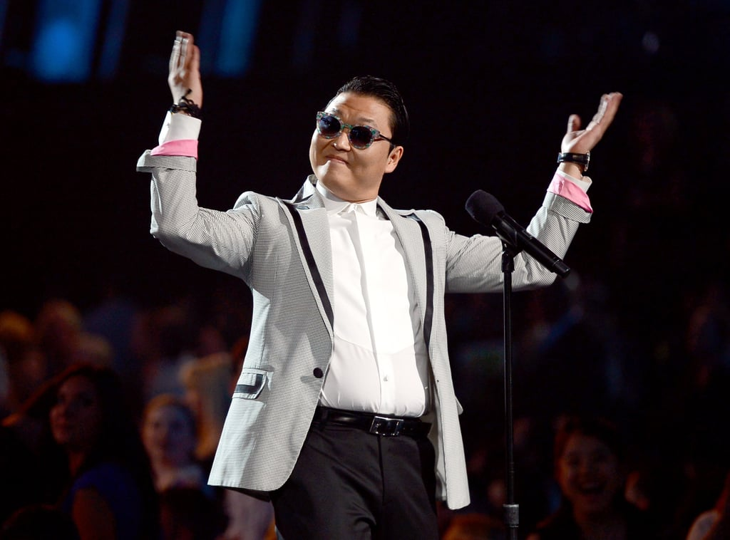 Psy made an appearance at the Billboard Music Awards.