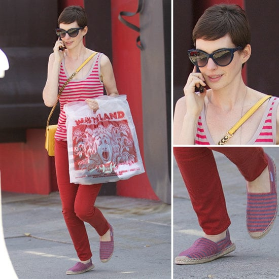 Love Anne Hathaway's off-duty style? Shop it for yourself.