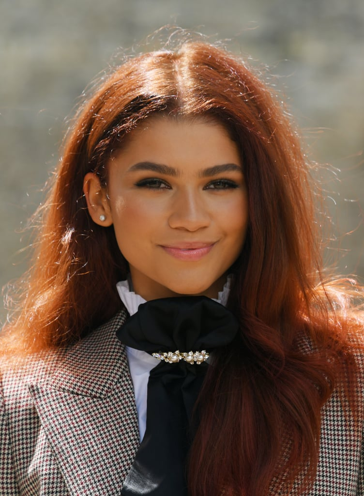 Zendaya With Spicy Ginger Hair