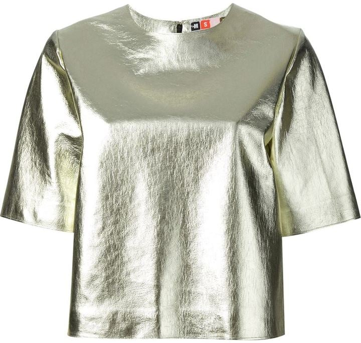 MSGM Box Shape T-Shirt