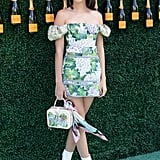 Like Gigi, Kendall Jenner's also a fan of Stuart Weitzman boots. She wore hers with a Dolce & Gabbana dress to the Veuve Clicquot Polo Classic.