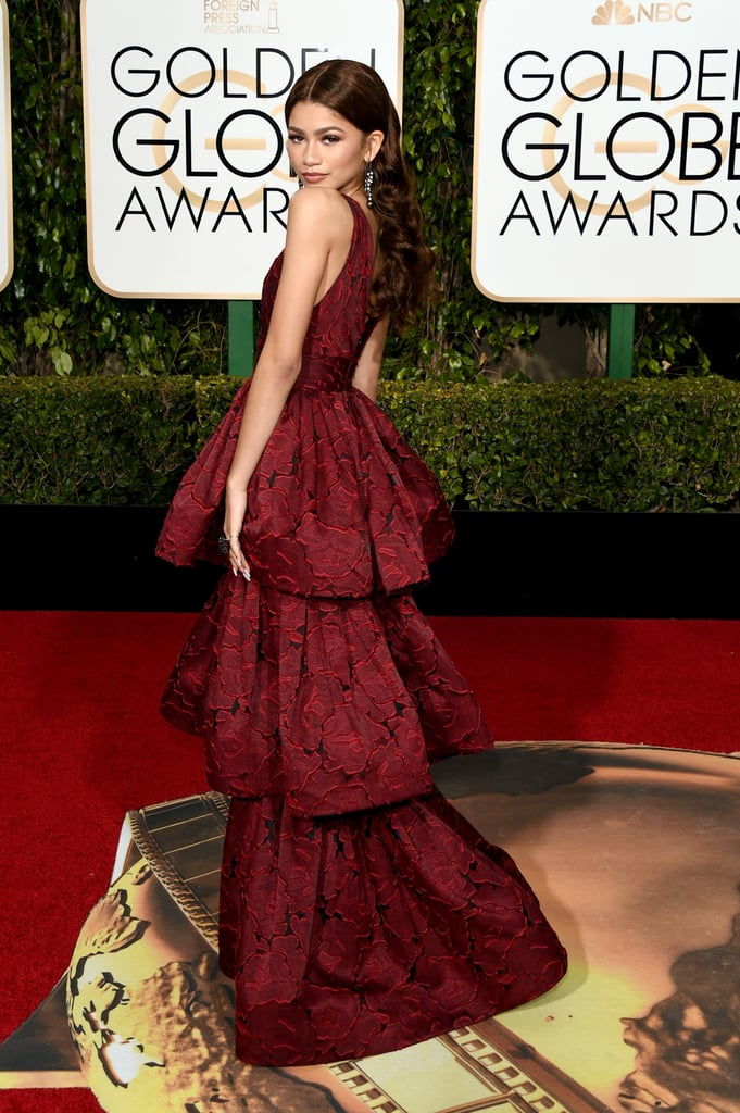 Zendaya at the Golden Globe Awards 2016