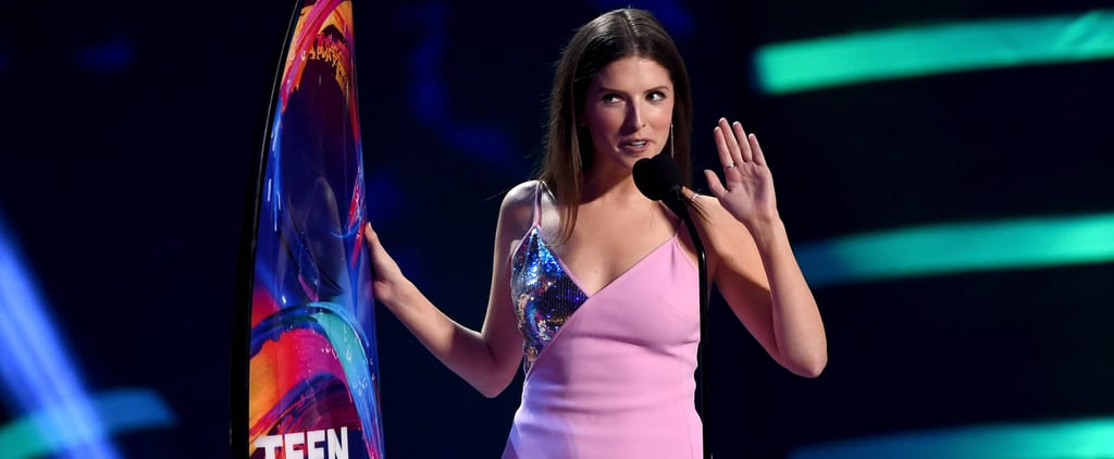 Anna Kendrick's Speech at the Teen Choice Awards 2018