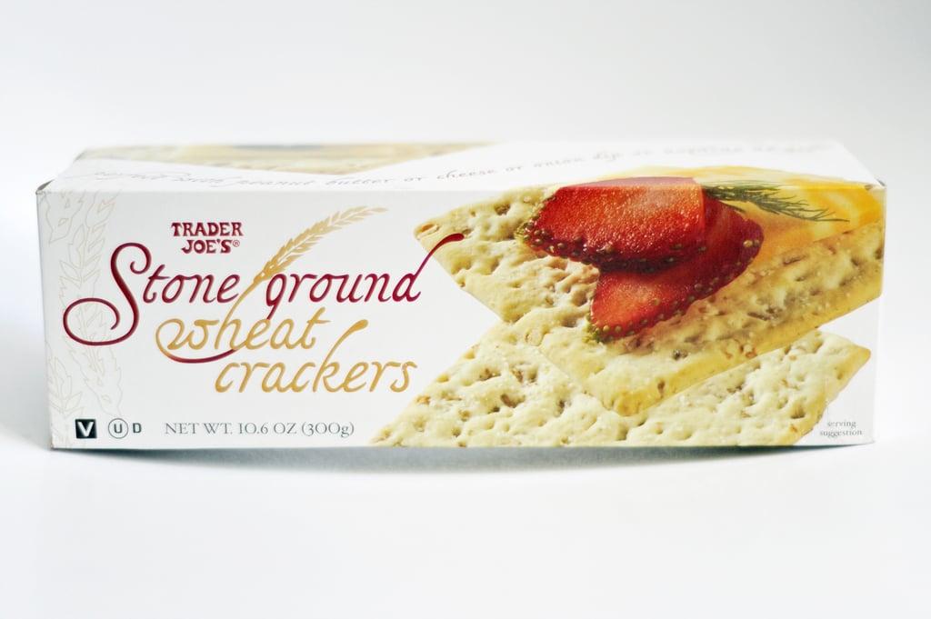 Stone Ground Wheat Crackers ($2)