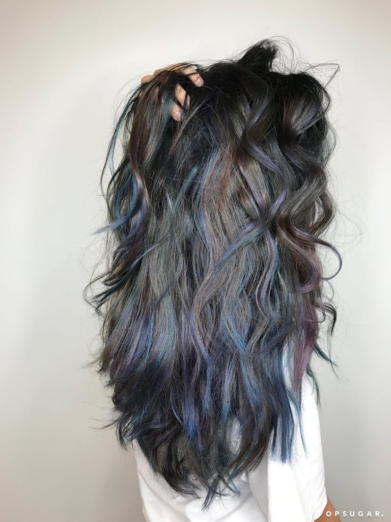 Oceanic Brunette Hair Color Trend Popsugar Beauty