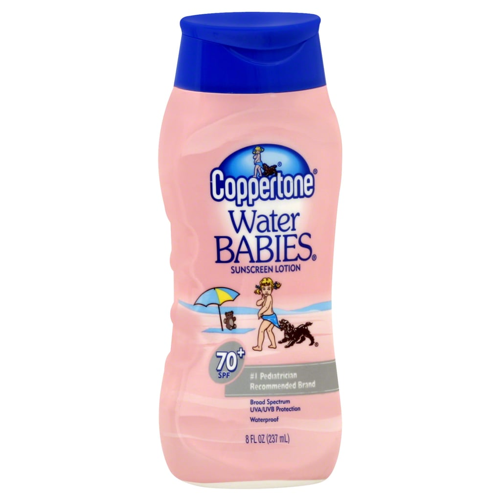 Coppertone Water Babies Sunscreen Lotion, SPF 70+