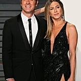 Jennifer and Justin kept things sexy at the Vanity Fair Oscars afterparty in 2017.