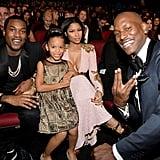 Tyrese's Daughter, Shayla, Mingling With Nicki Minaj
