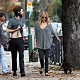 Tom Sturridge Gives a Peek at Those Abs Out With His Girl Sienna