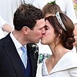 Princess Eugenie Wedding Jacket Ms Brooksbank