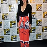 When She Wore a Pair of Vibrant Colored Pants to Comic-Con