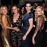 Kate Hudson, Stella McCartney, Liv Tyler, and Kate Bosworth made quite the girl gang in 2009.