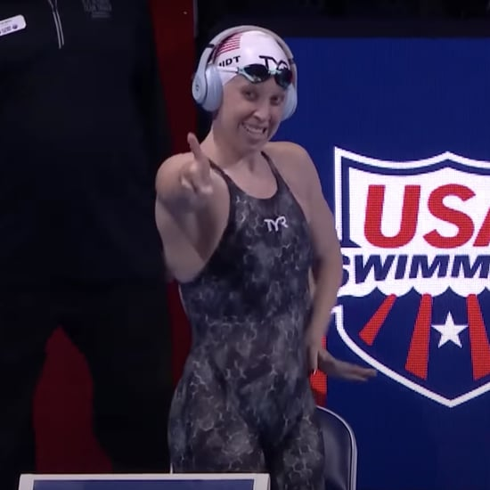 Swimmer Sierra Schmidt Dances Before Olympic Trials Races