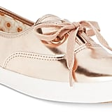 Keds Metallic Lace-Up Sneakers