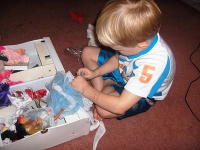 Boys Will Be Boys, But What If They Like Girl Toys?