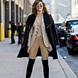 If You Have a Blazer, Cover It With a Light Duster Jacket or Coat
