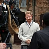 Prince Harry Announcing the Birth of His First Child Video