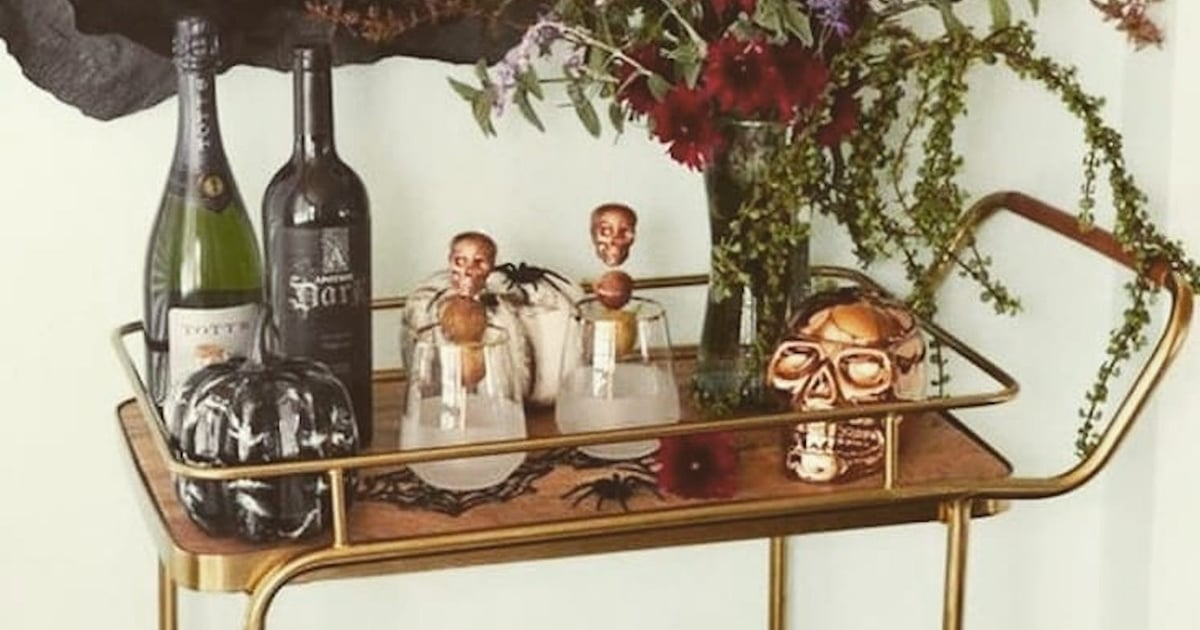 25 Halloween Bar Cart Decorating Ideas Popsugar Home Uk