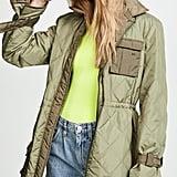 Ganni Ripstop Quilt Jacket