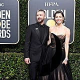 Jessica Biel and Justin Timberlake 2018 Golden Globe Awards