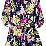 Romwe V Neck Florals With Belt Romper ($35)