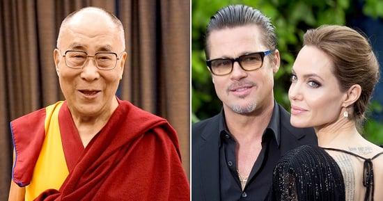 The Dalai Lama Actually Has an Opinion on the Brangelina Split (Really!)